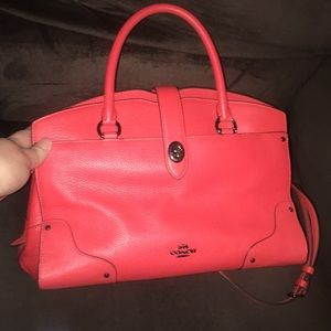 Coach Mercer in Deep Coral